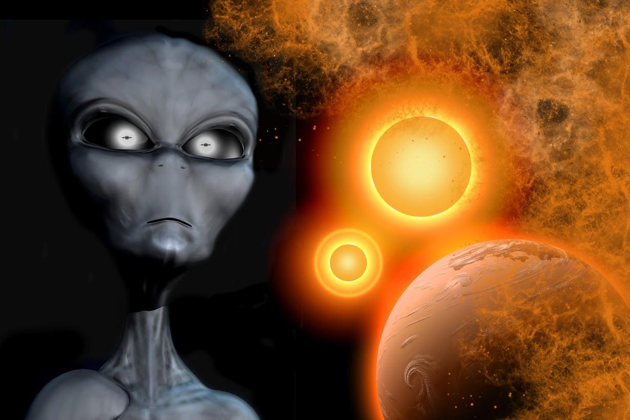 Ufobuumin alettua 1940-luvun lopulla avaruusoliot kuviteltiin humanoideiksi. Nyt uskotaan koneälyyn. Kuva: Getty Images