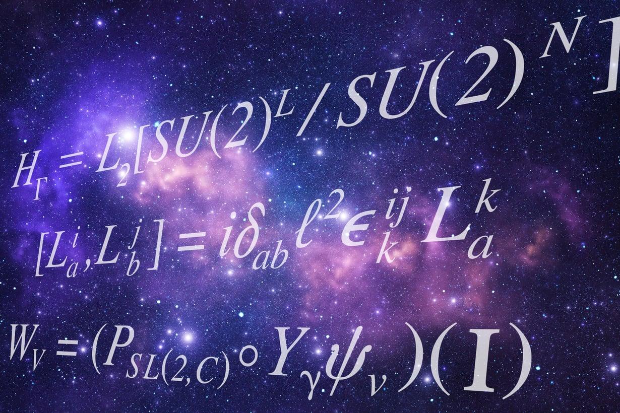 Kvanttimekaniikkaa verhoaa yhä käsittämättömyyden usva. Kuvitus: Petri Rotsten, kuva Getty Images