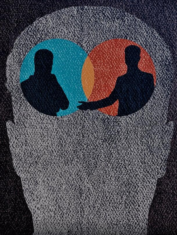 """Ihmisen ajattelu muistuttaa vuoropuhelua. Kuva: <span class=""""photographer"""">Getty Images</span>"""