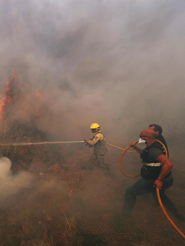 """Portugalissa raivosi kesällä lukuisia metsäpaloja. Kuva: <span class=""""photographer"""">REUTERS/Rafael Marchante</span>"""