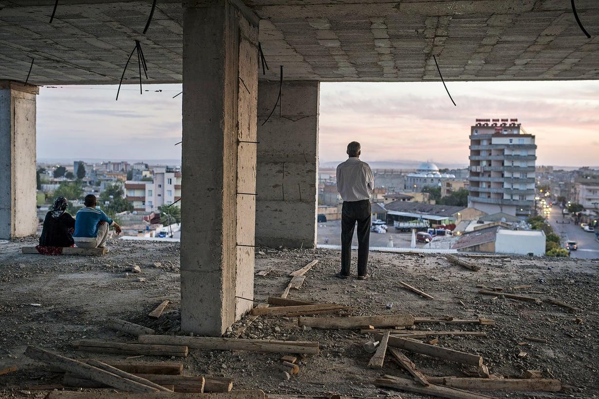 Ensimmäisen kerran aikoihin kurdit katsovat toiveikkaina  tulevaisuuteen: oikeus päättää omista asioista on toteutumassa. Kuva Getty Images