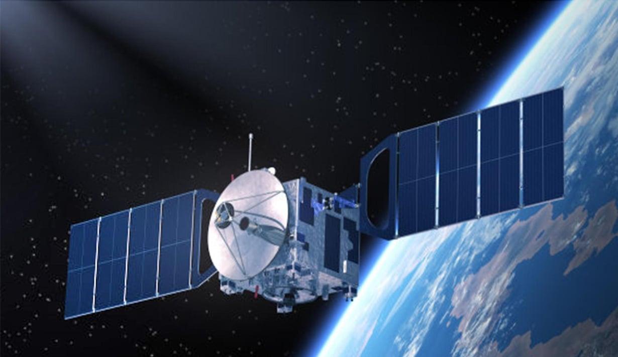 Toinen lomittuneista valohiukkasista oli Kiinan Micius-satelliitissa. Kuva: TMT