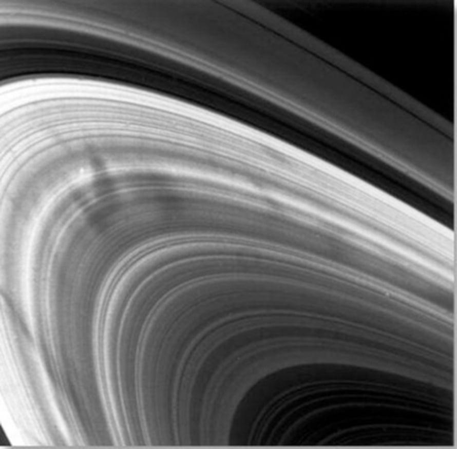 """Voyager ikuisti Saturnuksen pinnat ensimmäistä kertaa jo 1981. Kuva: <span class=""""photographer"""">Nasa/JPL</span>"""