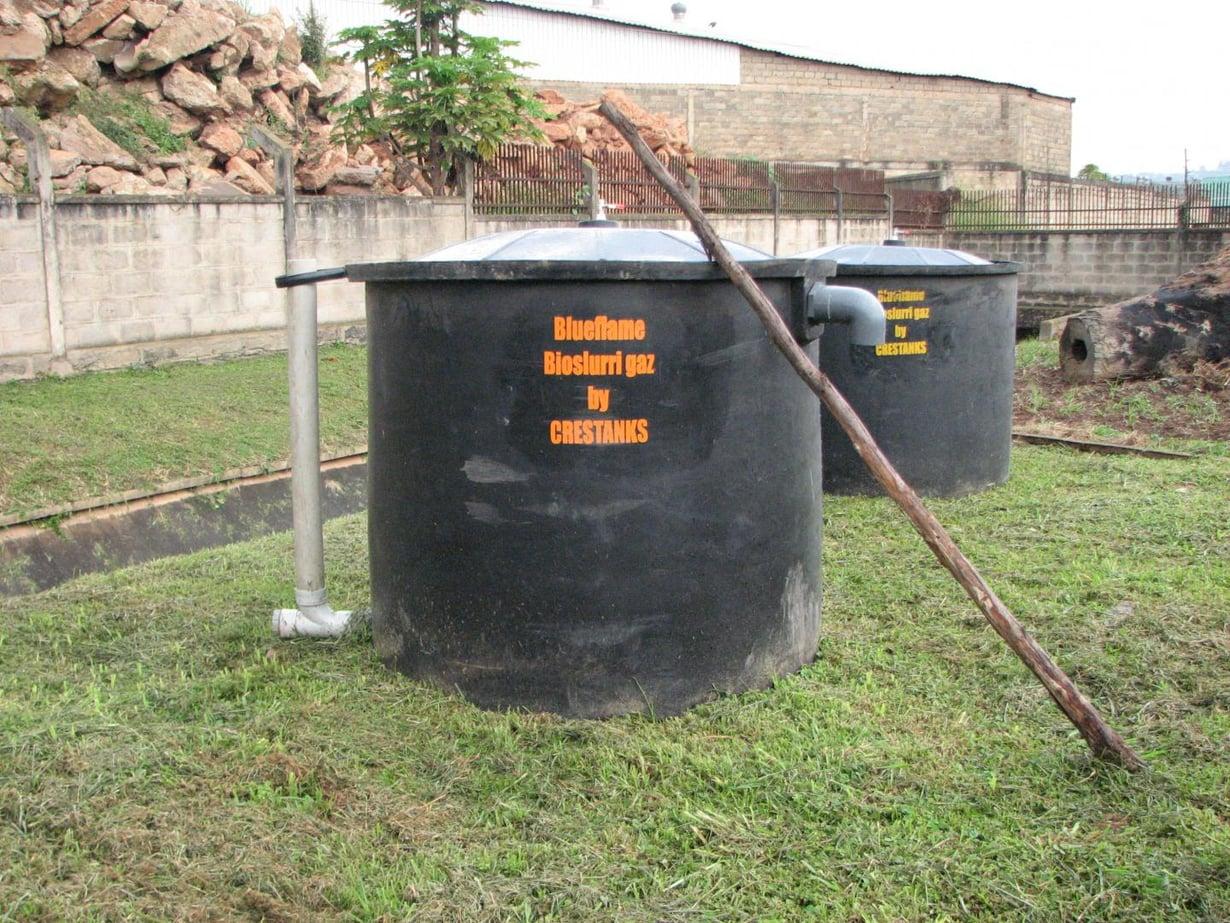 Ihmisen jätöksistä tehdään biokaasua Ugandassa. Kuva: Corinne Schuster-Wallace, UNU-INWEH