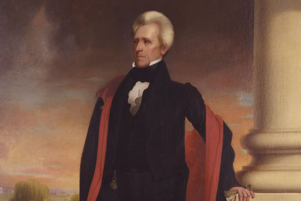 Seitsemäs presidentti Andrew Jackson oli itsevaltias, kuumakalle ja populisti, sanovat historioitsijat. Aivan ihmeellinen hahmo, sanoo Donald Trump. Kuva: Album/MVPhotos