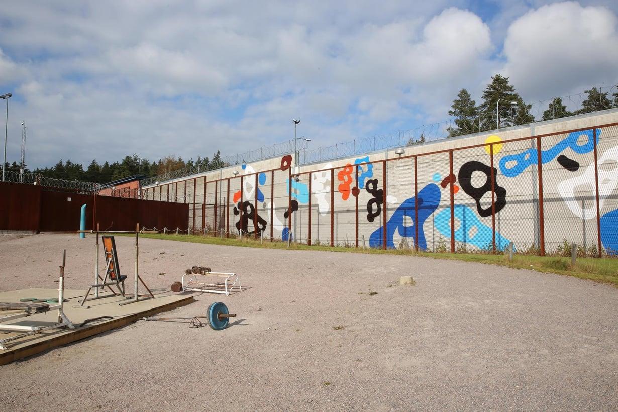 Vantaan vankilan muuri. Kuva: Sami Kero / HS