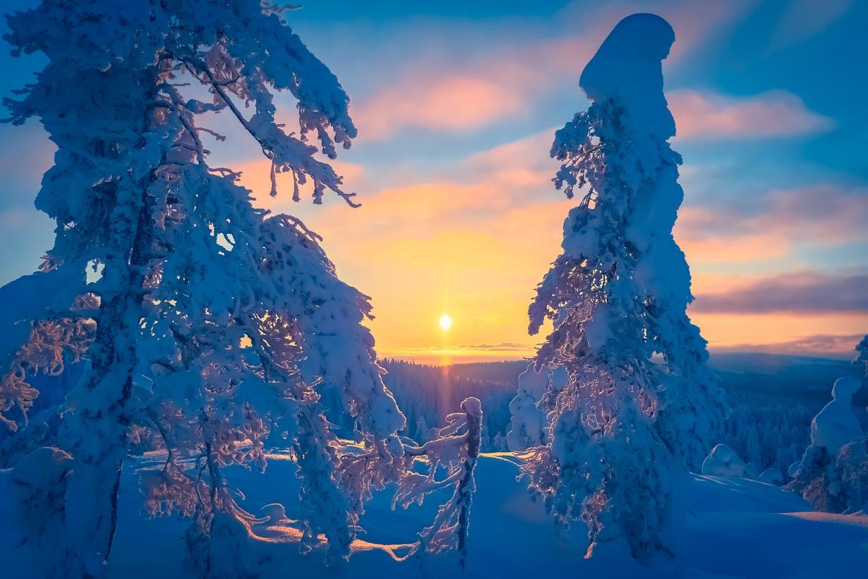 Lähivuosikymmeninä talvet lyhenevät ja leudontuvat. Kuva: Getty Images
