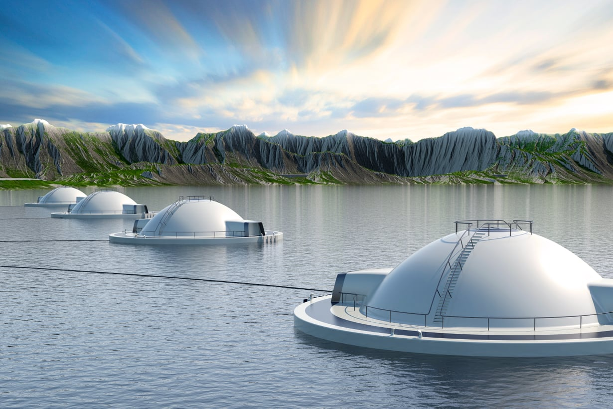 Jos Hauge Aquan suunnitelma toteutuu, lohenpoikaset voivat kohta kasvaa kassien sijaan munissa. Kuva: Hauge Aqua