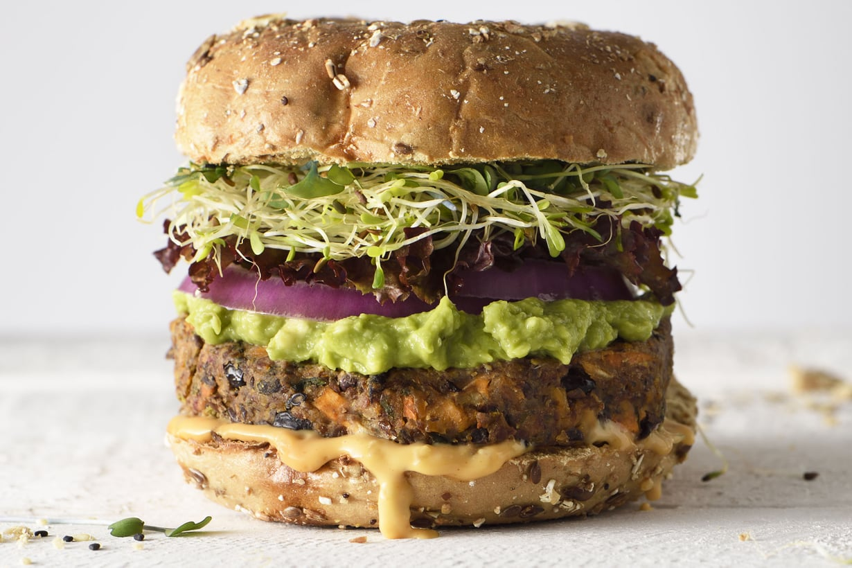 Vegeburgerista ei noussut kohua. Kuva: Getty Images
