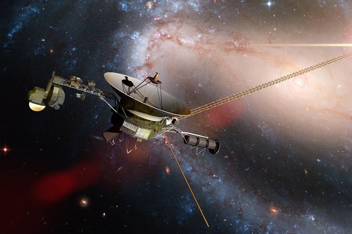 Takana on jo 21 miljardia kilometriä. Kuva: Getty Images