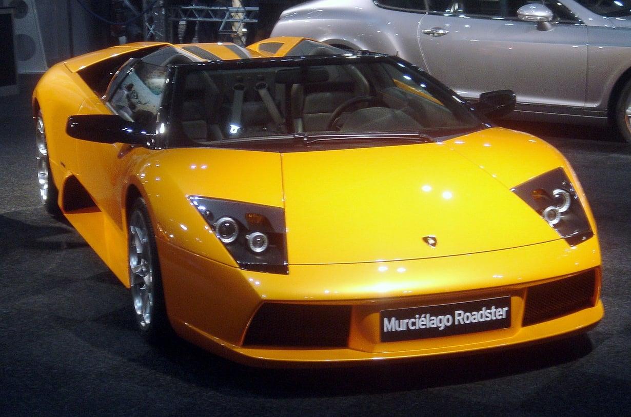 Lamborghini herättää sylkirauhaset.