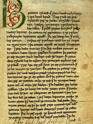 "Peterboroughin kronikka kirjasi keskiajan tapahtumia. Kuva: <span class=""photographer"">Wikimedia Commons</span>"