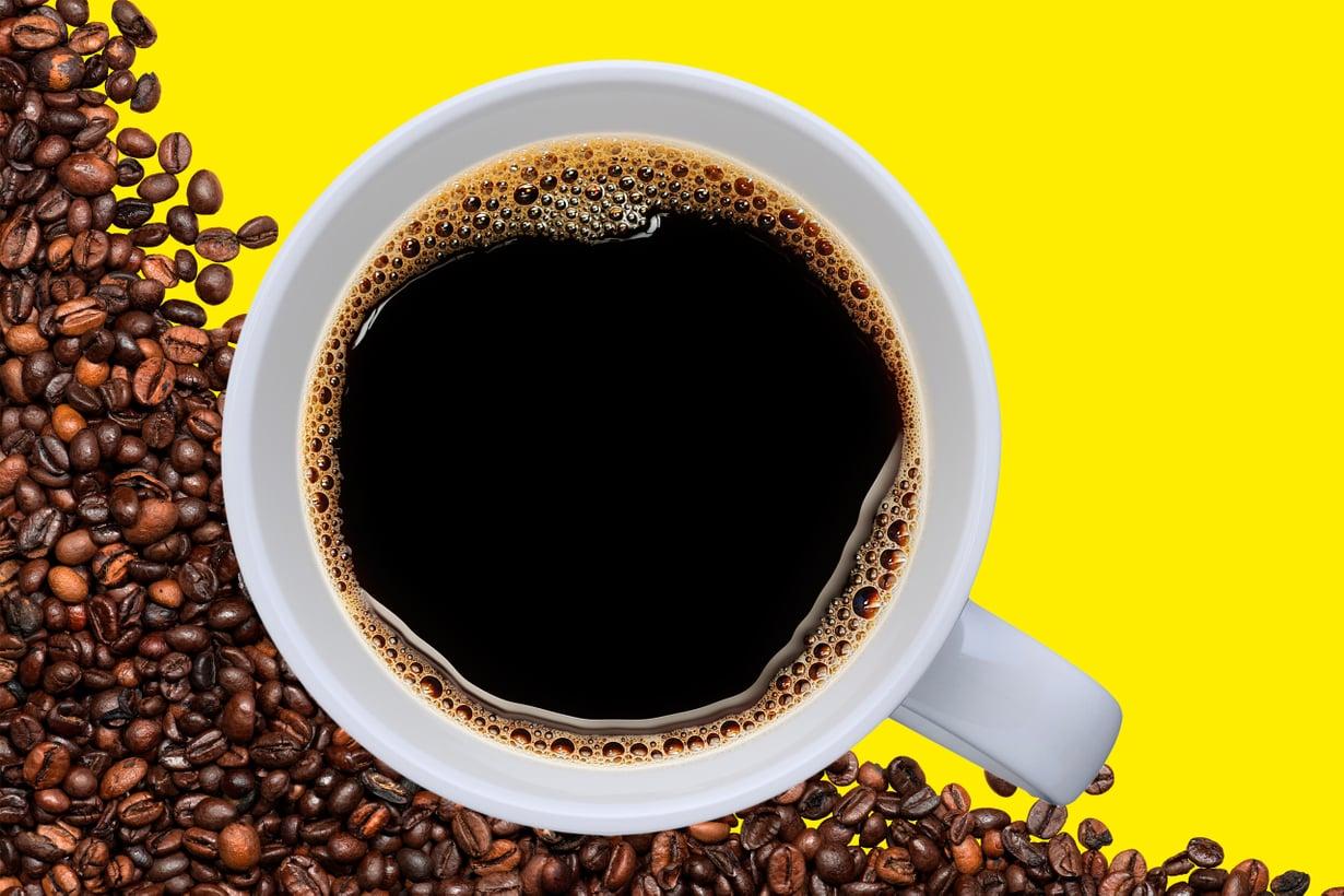 Mikä tekee kahvista terveellisen? Varma vastaus puutuu vielä, mutta se on selvää, ettei selitys löydy kofeiinista. Kuva: Getty Images