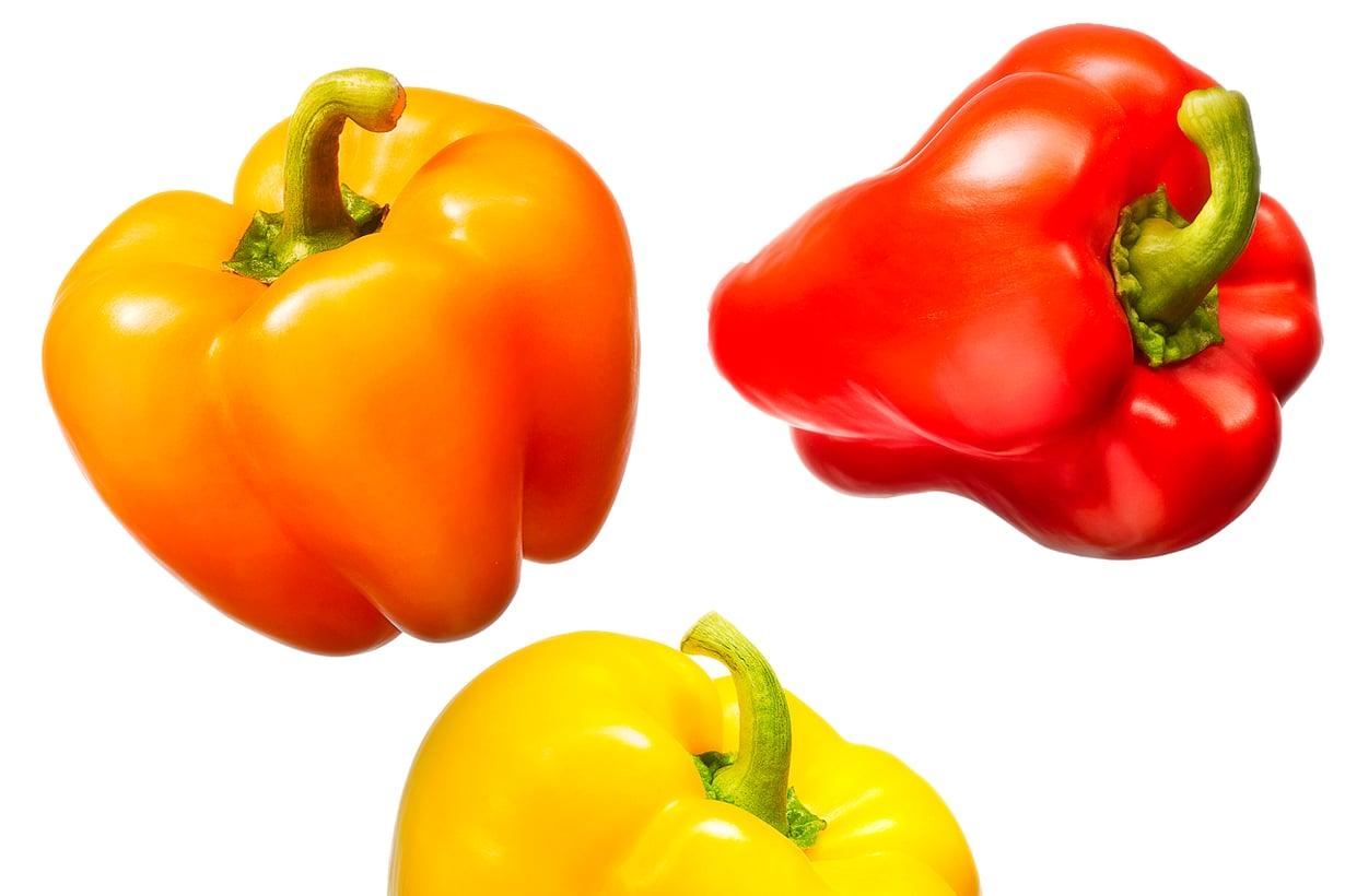 Hyviä C-vitamiinin lähteitä ovat sitrushedelmät, marjat ja vihannekset. Kuva: Getty Images