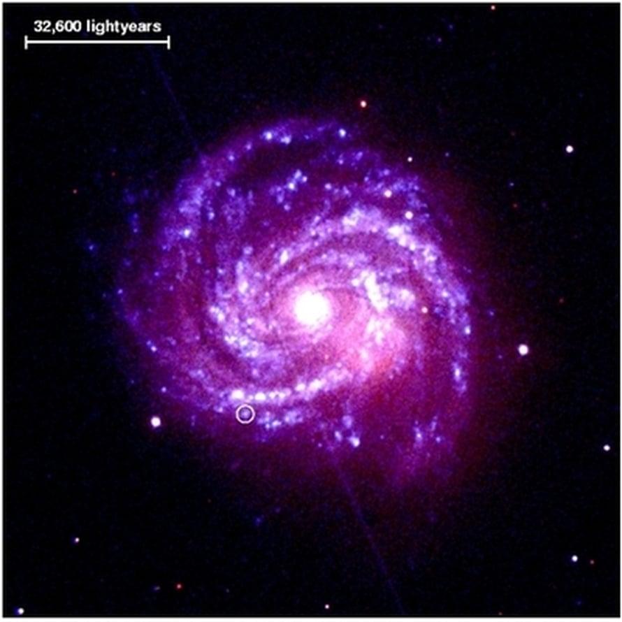 "Kuva: <span class=""photographer"">ESA/NASA/Immler et al.</span>"