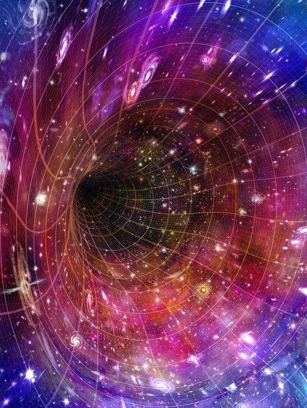 """Alkuräjähdyksen pohdinta alkoi, kun Einsteinin teoria ennusti, että universumi supistuu tai laajenee. Kaikki havainnot puhuvat laajenemisen puolesta. Kuva: <span class=""""photographer"""">SPL/MVPhotos</span>"""