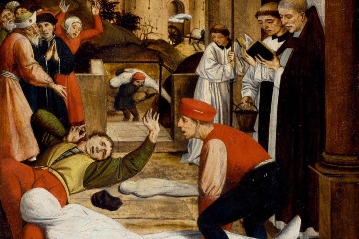 Tartuntataudeista tuhoisimpia on ollut rutto. Keskiajalla se kylvi kuolemaa niin usein, että elämä mustui maailmanlopun odotukseksi. Kuva: Alamy/MVPhotos