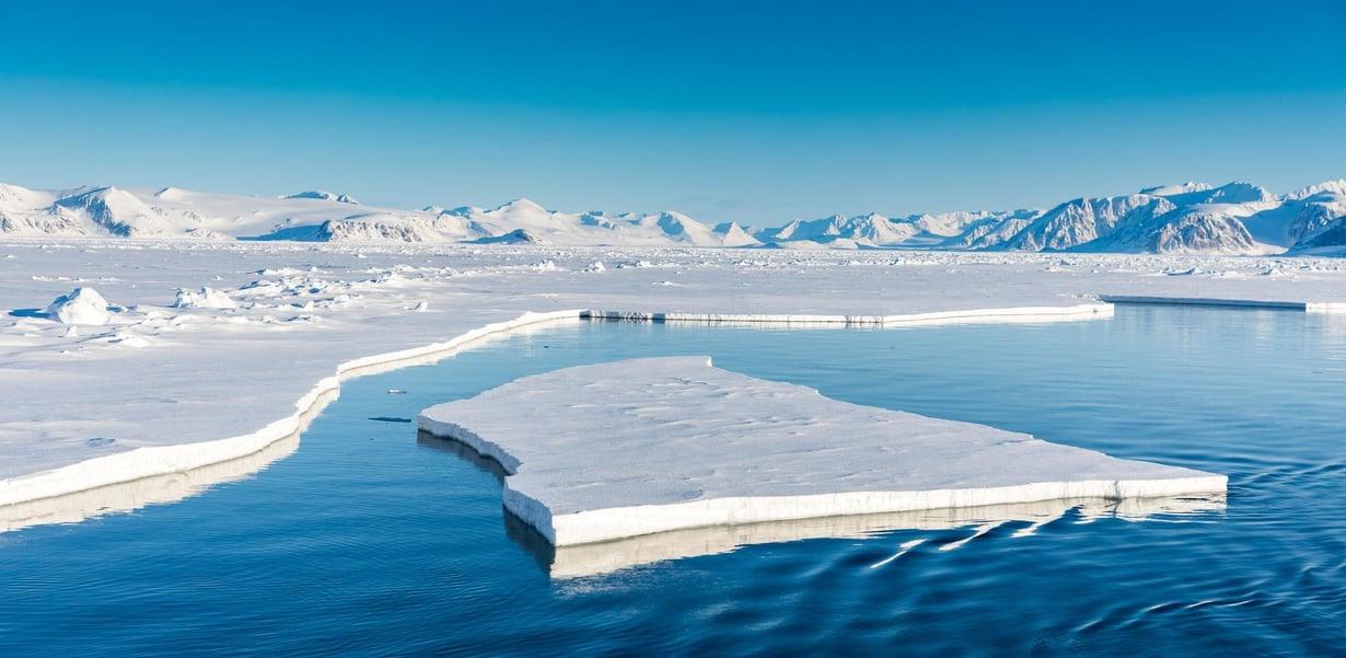 Pohjoisella napaseudulla jääkauden lämpötila erosi eniten nykyisestä. Kuva: Shutterstock