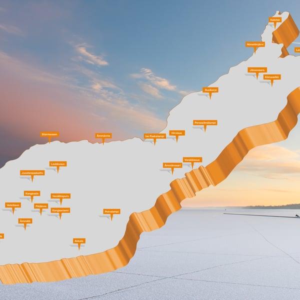 Neljäsosa suomenkielisistä paikannimistä on ainutkertaisia. Toista täsmälleen samanlaista ei kartoista löydy. Kuva: Getty Images