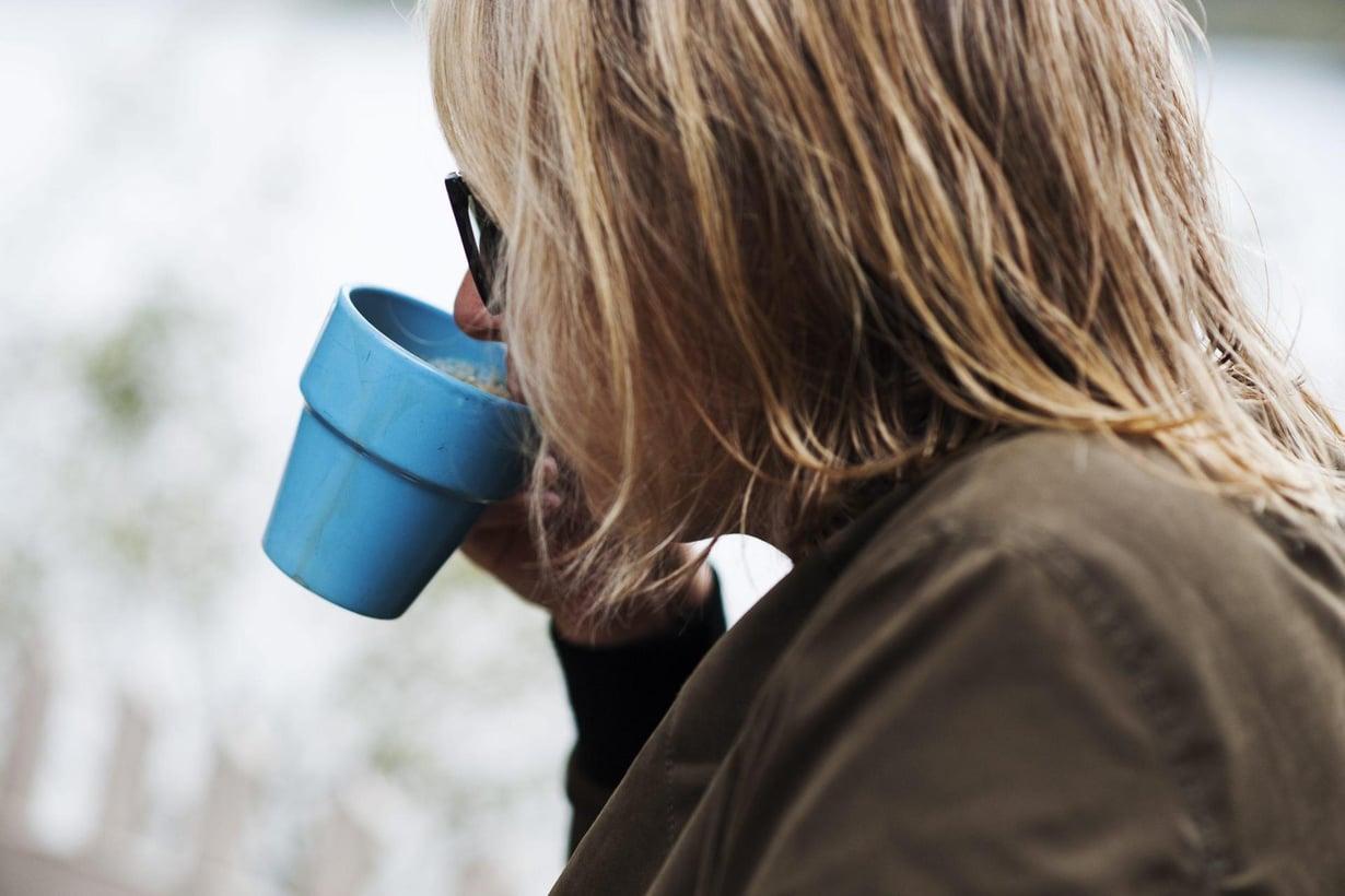 Suomalainen nauttii vuodessa noin kymmenen kiloa kahvia. Kuva: Emilia Kangasluoma