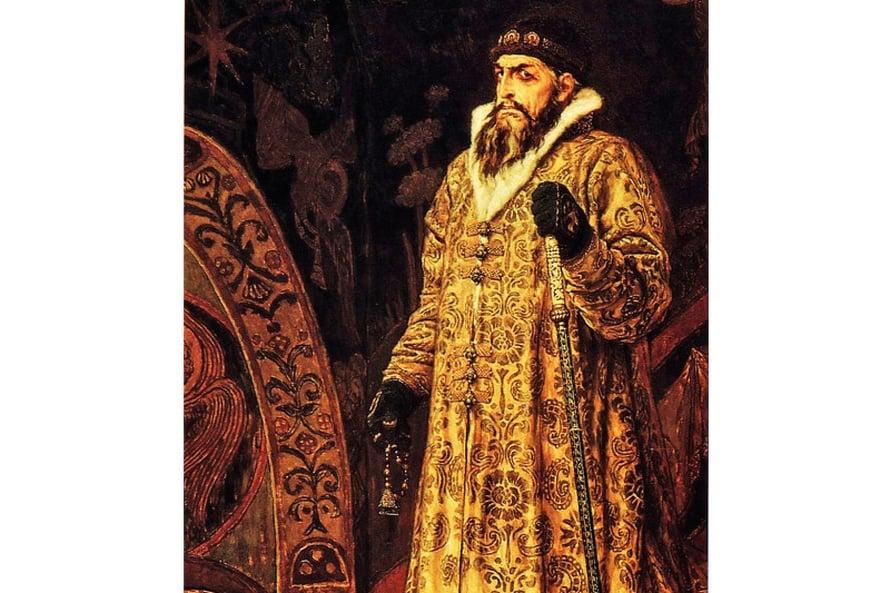 Iivana Julma perusti kruunun kapakoita ja järjesti hillittömiä ryyppäjäisiä, joissa monelta lähti henki. Kuva Wikimedia Commons.