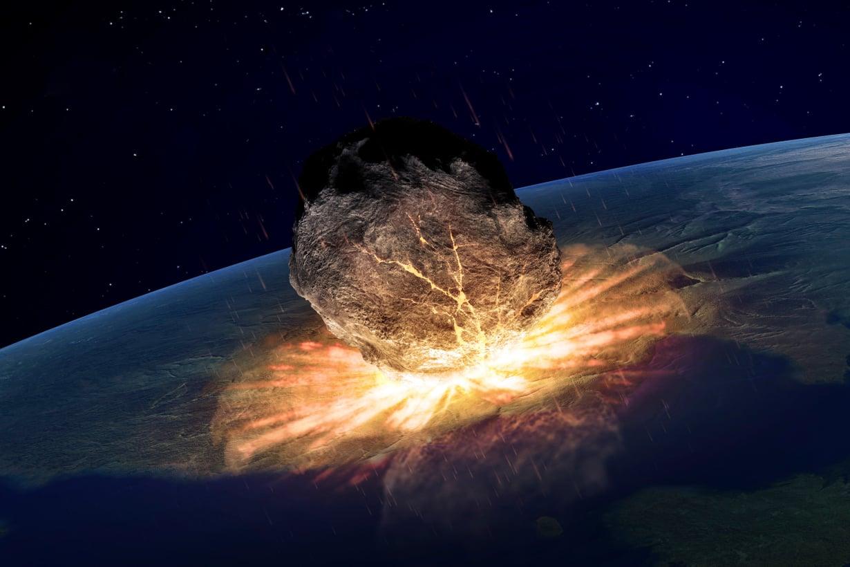 Nykyelämä ei pääty ainakaan asteroidiin. Suurtuhon tuoja osuu Maahan kerran 100 miljoonassa vuodessa. Kuva: iStock