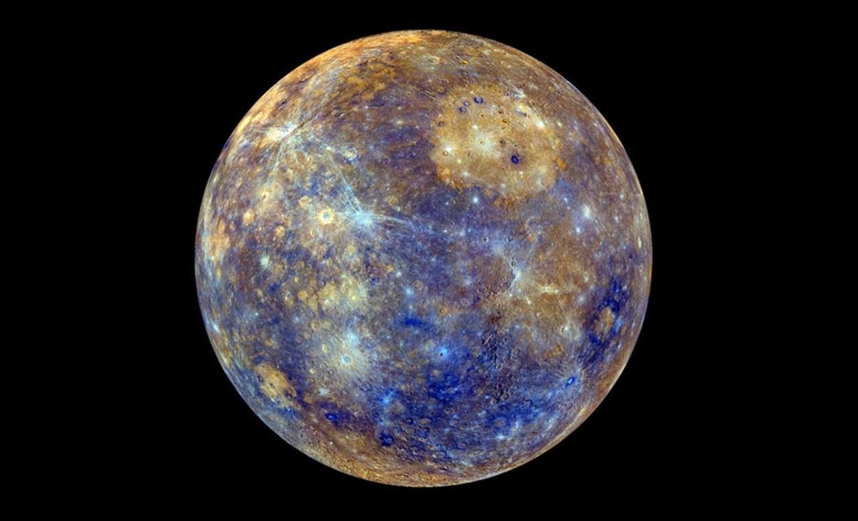 Merkurius kiertää Aurinkoa lähimpänä planeetoista. Kuva: Nasa