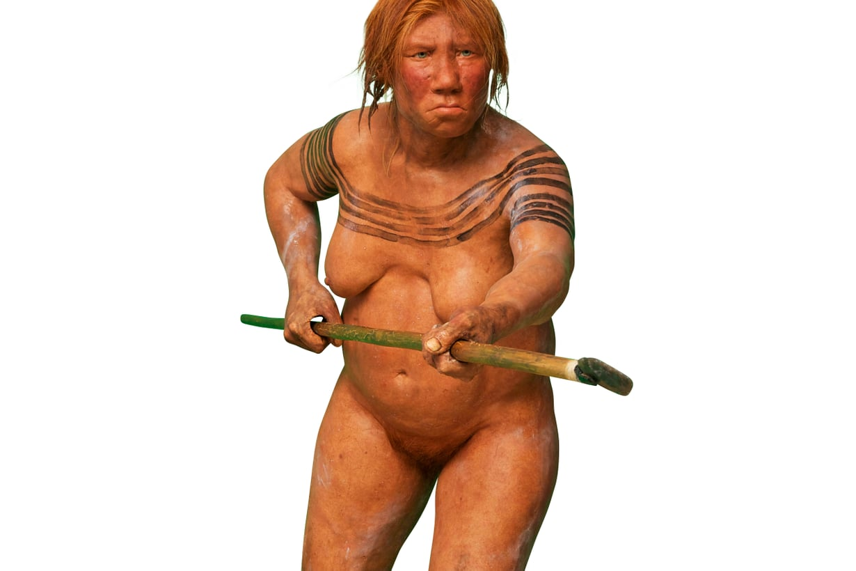 Rakenteeltaan naapurit olivat nykyihmistä lyhyempiä ja vantterampia. Naisten keskimitat 155 senttiä ja 50 kiloa, miesten 164 ja 65. Kuva: Alamy / MVPhotos