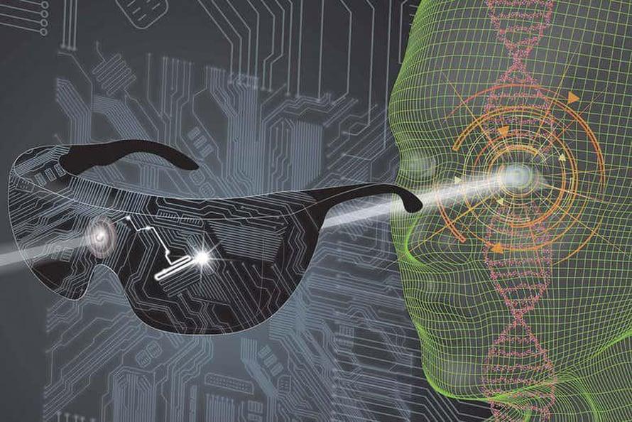 """Lähes sokean miehen näkö koheni huomattavasti valoa käsittelevien lasien ja valoherkän proteiinin avulla. Kuva: <span class=""""photographer"""">Streetlab / Nature Medicine</span>"""