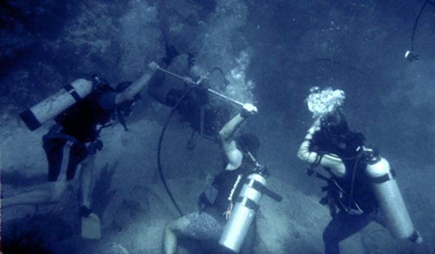 """Hurrikaanihistoria paljastuu tutkijoille koralleista ja simpukoista. Kuva: <span class=""""photographer"""">J. Nyberg</span>"""