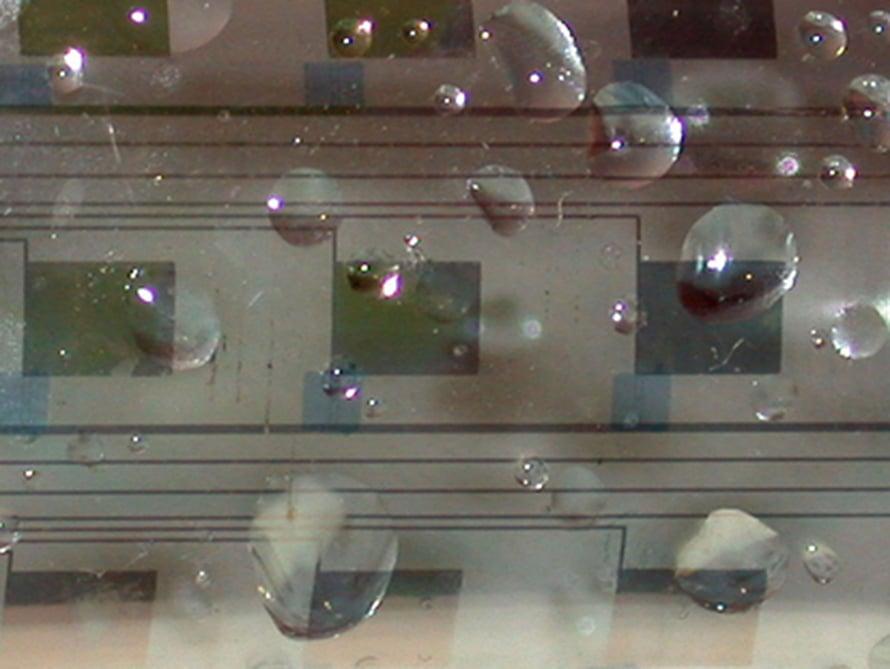 """Orgaanisista transistoreita saa taipuisia ja vedenkestäviä laitteita. Kuva: <span class=""""photographer"""">Lynn Loo, University of Texas at Austin; Bell Laboratories; Lucent Technologies </span>"""