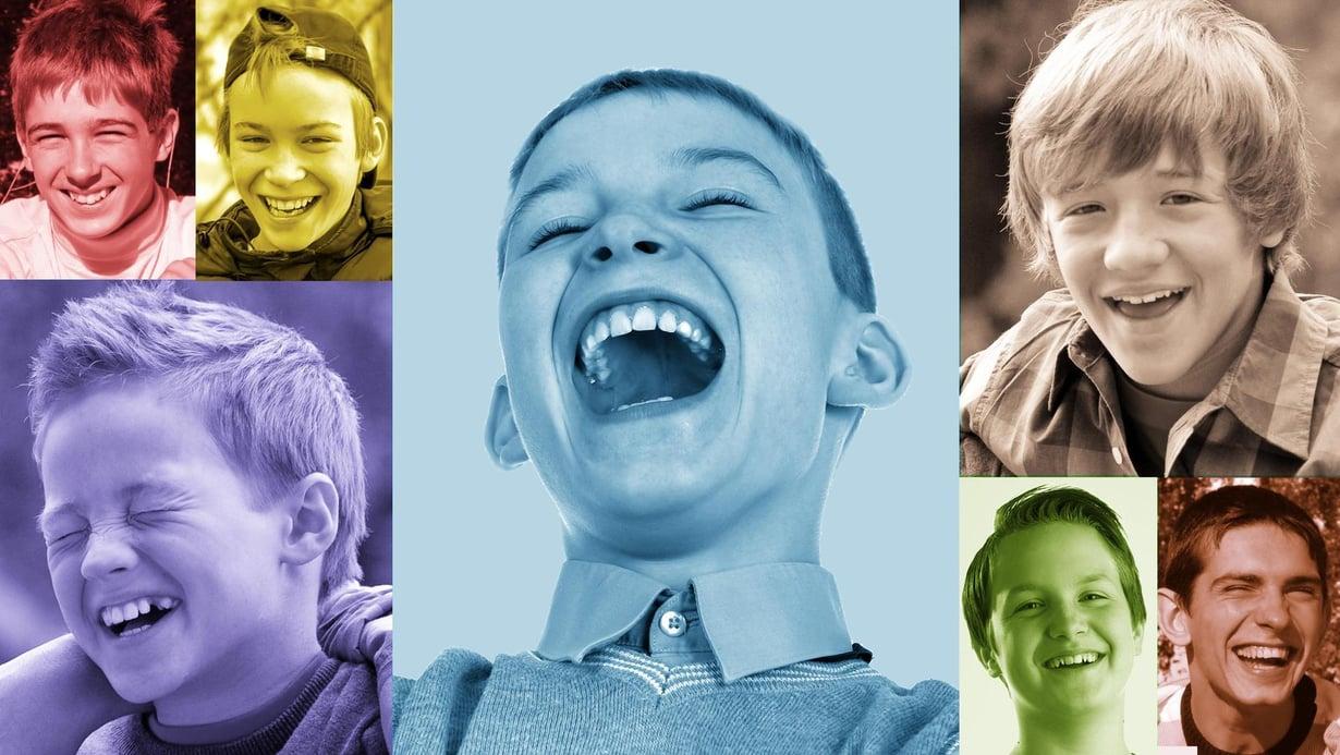 Tavallisesti toisen nauru tarttuu. Myötäelämisen vaikeus voi sammuttaa tämän jaetun ilon ja sen mahdollistamat suhteet toisiin ihmisiin. Kuva: Kimmo Taskinen / HS