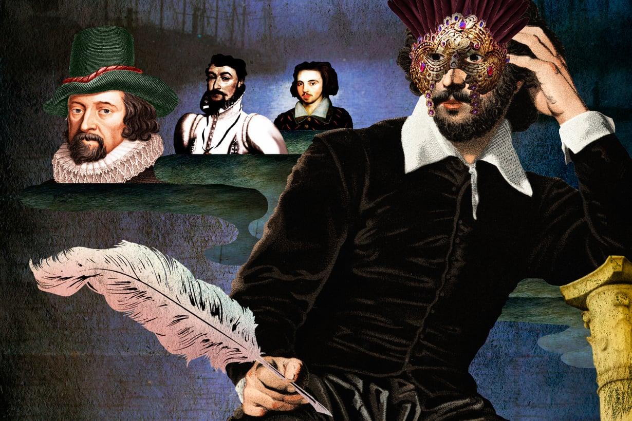 Shakespearen teosten haamukirjoittajaksi on tarjottu muun muassa Francis Baconia, Edward de Vereä ja Christopher Marlowea. Kuva: Jussi Jääskeläinen