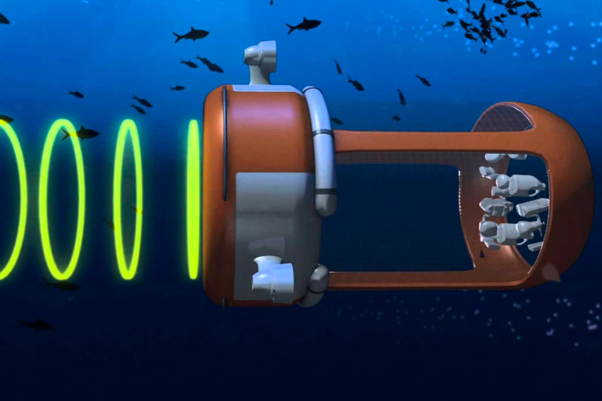 Veolia imuroi muovia kuin valas planktonia. Merieliöt se karkottaa ääniaalloilla. Kuva: Veolia