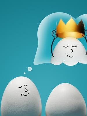 """Nykyisten tutkimusten mukaan mikään ei todista, että muna päivässä olisi vahingoksi. Kuva: <span class=""""photographer"""">Getty Images</span>"""