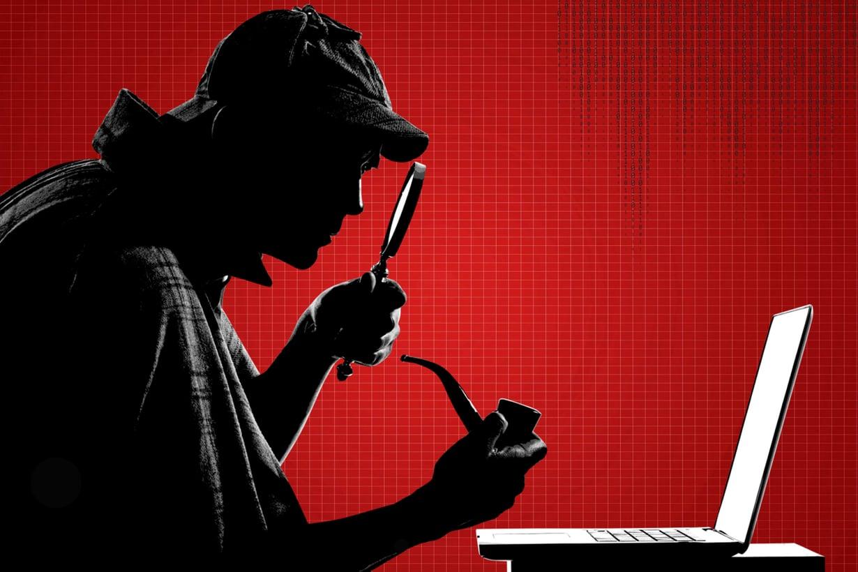 Nykyajan Sherlock Holmes etsii tietokannoista vastaavuuksia, jotka vievät vihje vihjeeltä lähemmäs ratkaisua. Kuva: Getty Images