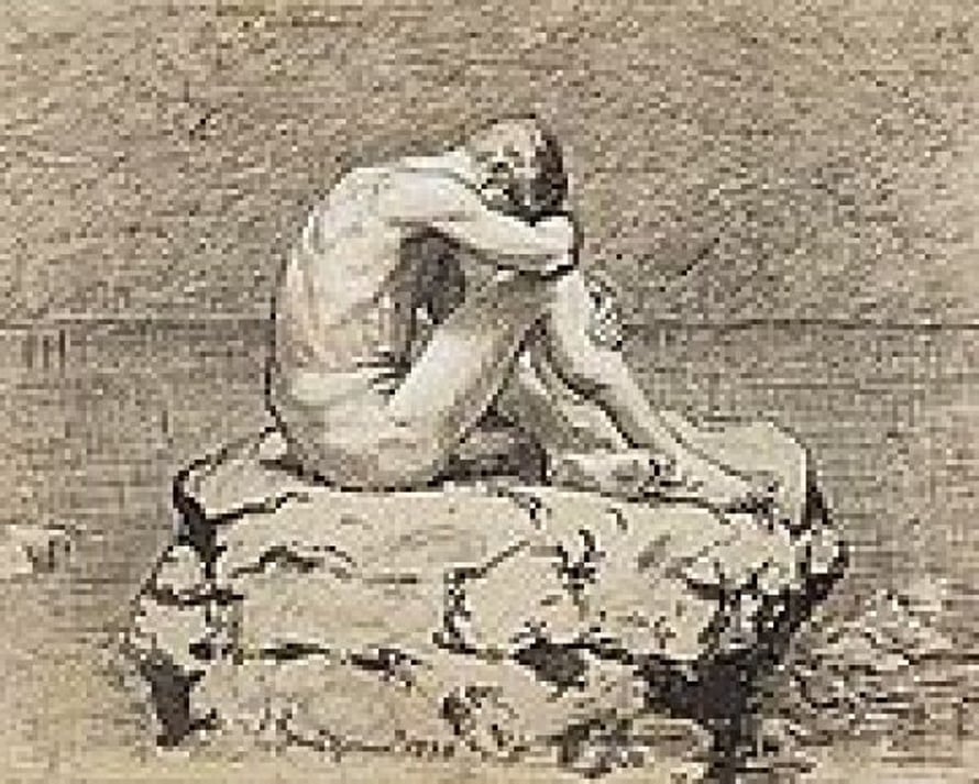 "Thoma Loneliness"" by Hans Thoma, Wikimedia Commons"