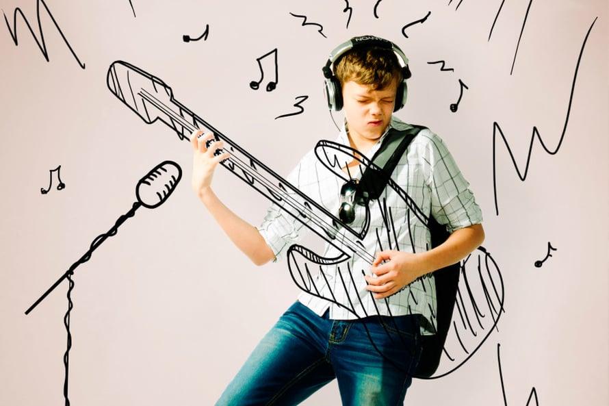 Rokki saa läksyt luistamaan paremmin. Kuva Shutterstock.