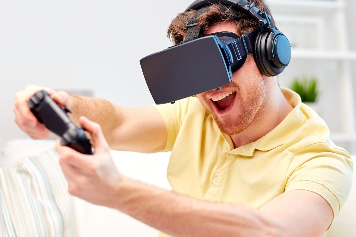 Aivot hyötyvät toimintapelien nopeista ja yllättävistä käänteistä. Kuva: Shutterstock
