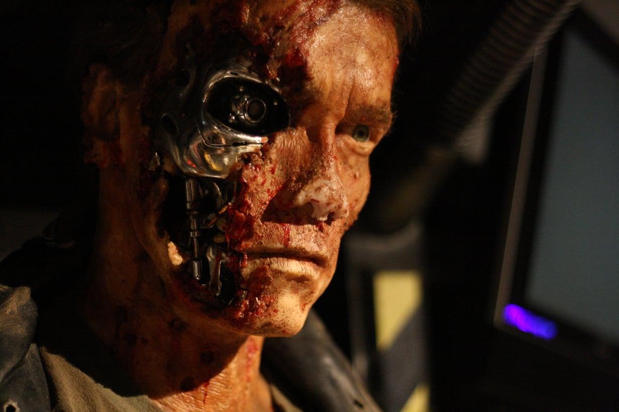 Arnold Schwarzenegger esitti Terminator-elokuvissa tuhoajarobottia T-800 101.