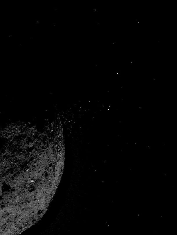 """Bennu on 334 miljoonan kilometrin päässä. Kuva: <span class=""""photographer"""">Nasa</span>"""