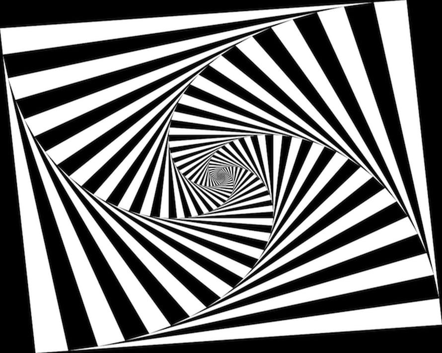 """Aivojen näköjärjestelmän universaalien ominaisuuksien johdosta yksinkertaiset geometriset kuviot ovat yleinen hallusinaatio. Kuva: <span class=""""photographer"""">Wikimedia Commons.</span>"""