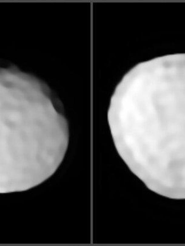 Avaruuden golfpallo, asteroidi Pallas.