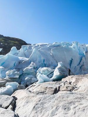"""Nigardsbreenin jäätikkö Norjassa. Kuva: <span class=""""photographer"""">Shutterstock</span>"""