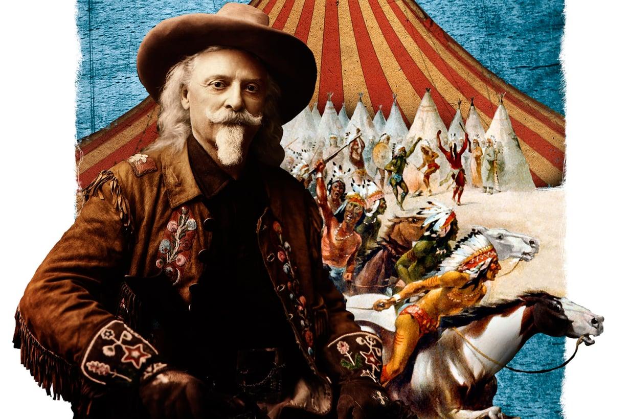 Lännenkiertueita tekivät monet, mutta Buffalo Billin show oli suurin. Kuva: Jussi Jääskeläinen