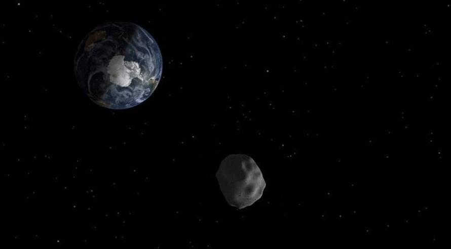 """Maan radan leikkaa ainakin 15000 asteroidia. Kuva: <span class=""""photographer"""">Arizona University</span>"""