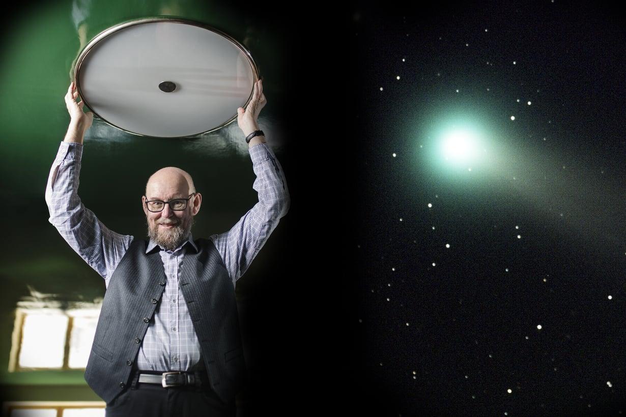 Lapsuuden jännityskertomus johti tähtitieteilijän uraan Turun yliopistossa. Kuva: Sanoma-arkisto