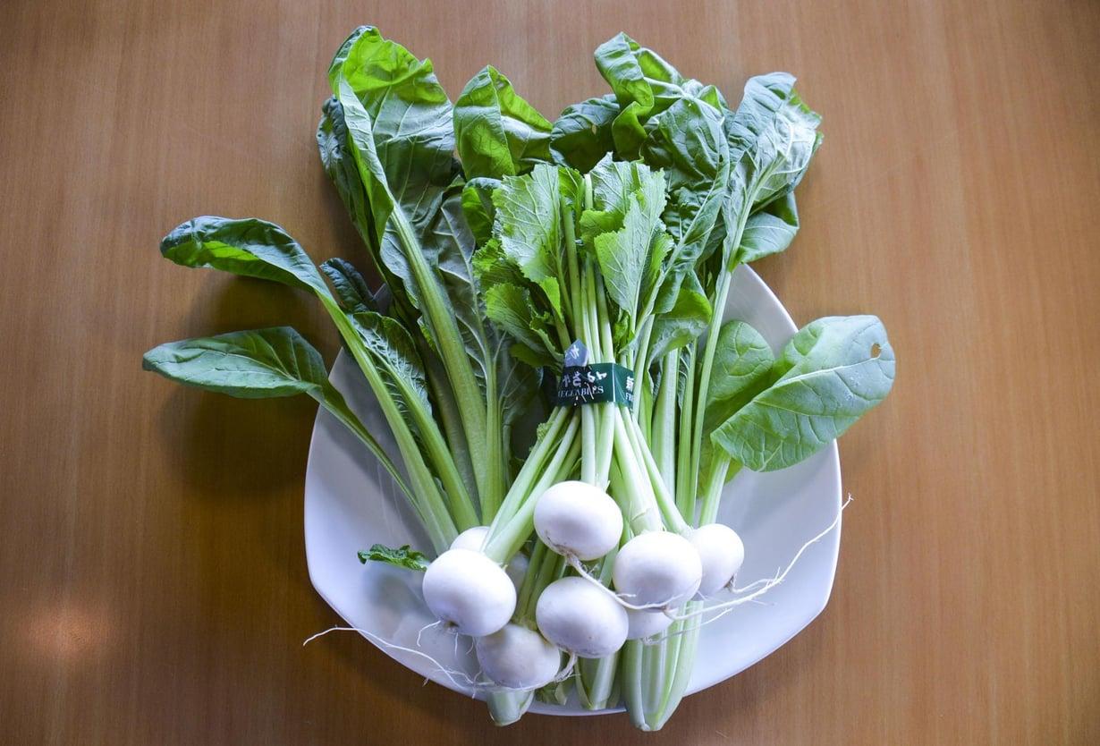 Vihanneksista saa antioksidantteja. Kuva: OIST