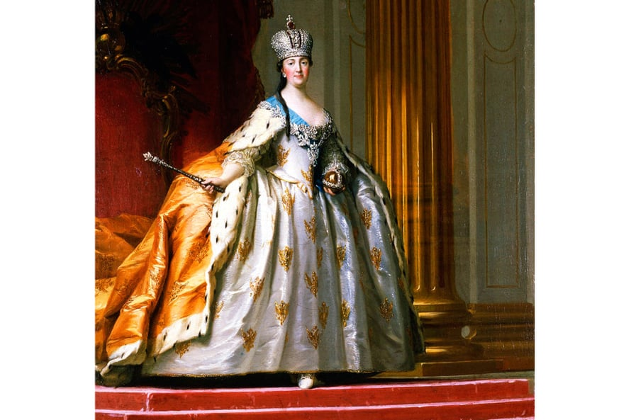 Katariina Suuri päätteli, että humalaista kansaa oli helpompi hallita. Kuva Wikimedia Commons.
