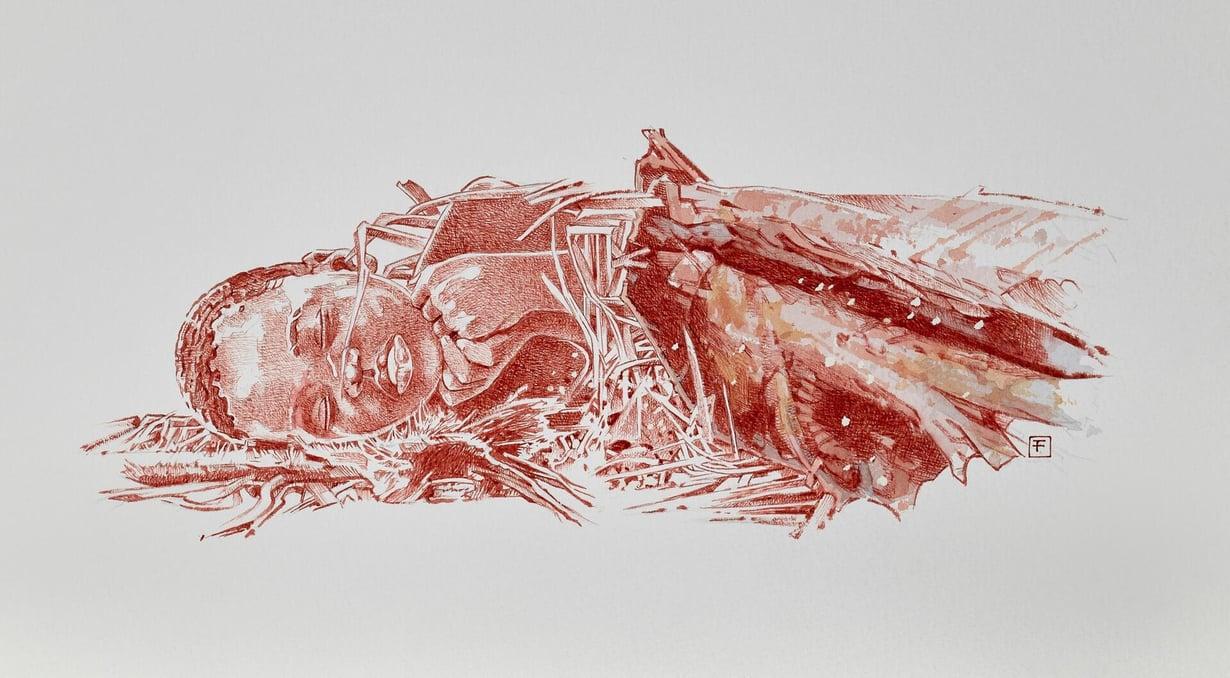 Mtotoksi nimetyn lapsen hautaus saattoi näyttää tältä. Kuva: Fernando Fueyo